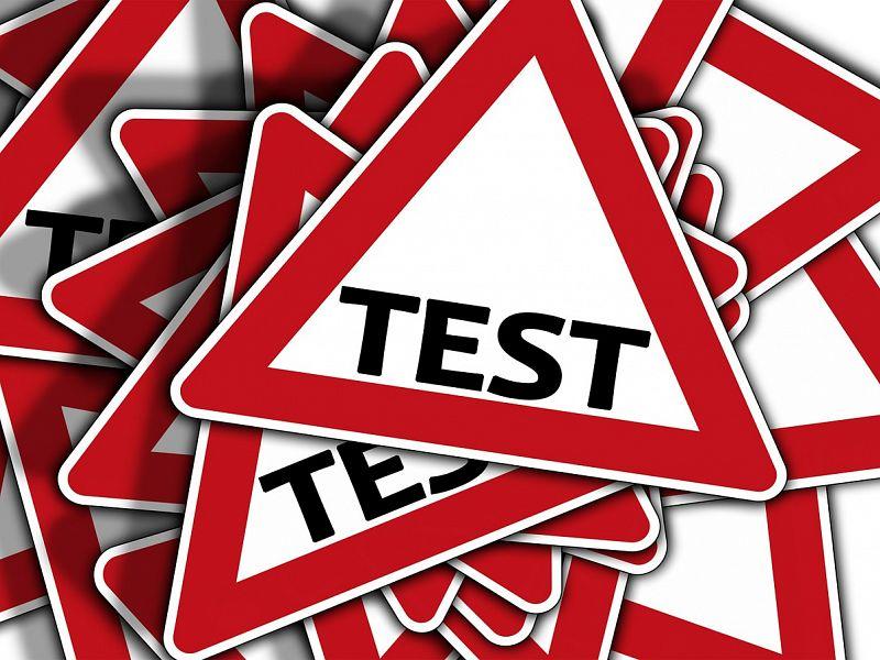Strah pred testi